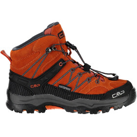 CMP Campagnolo Rigel Mid WP Trekking Shoes Kids Orange-Antracite